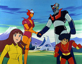 Mazinger Z tai Dr. Hell